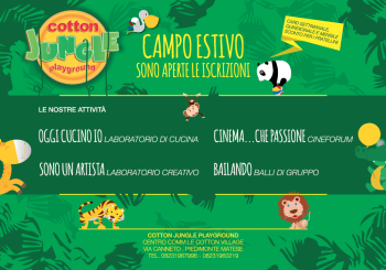 Campo Scuola al Cotton Jungle: si parte!