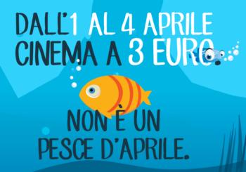 Cinema Days: dal 1 al 4 Aprile film  a 3 euro