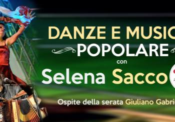 Danze e musica popolare al Cotton Movie&Food con Selena Sacco   Venerdì 22 Marzo ore 21:30