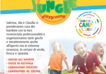 Summer Camp Cotton Jungle 2019 – Dal 1° Luglio