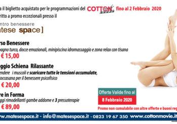 Promo Cinema / Centro Benessere Matese Space