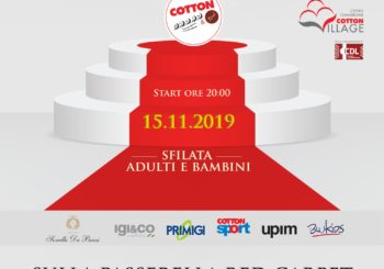 Fashion Show: il Red Carpet | Venerdì 15 Novembre al Cotton Movie&Food